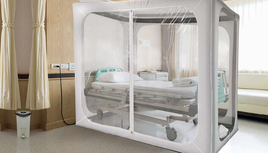 New Product – New Preventions. Our Rapid Deployment Inflatable Isolation Module with C.A.H.S® 200